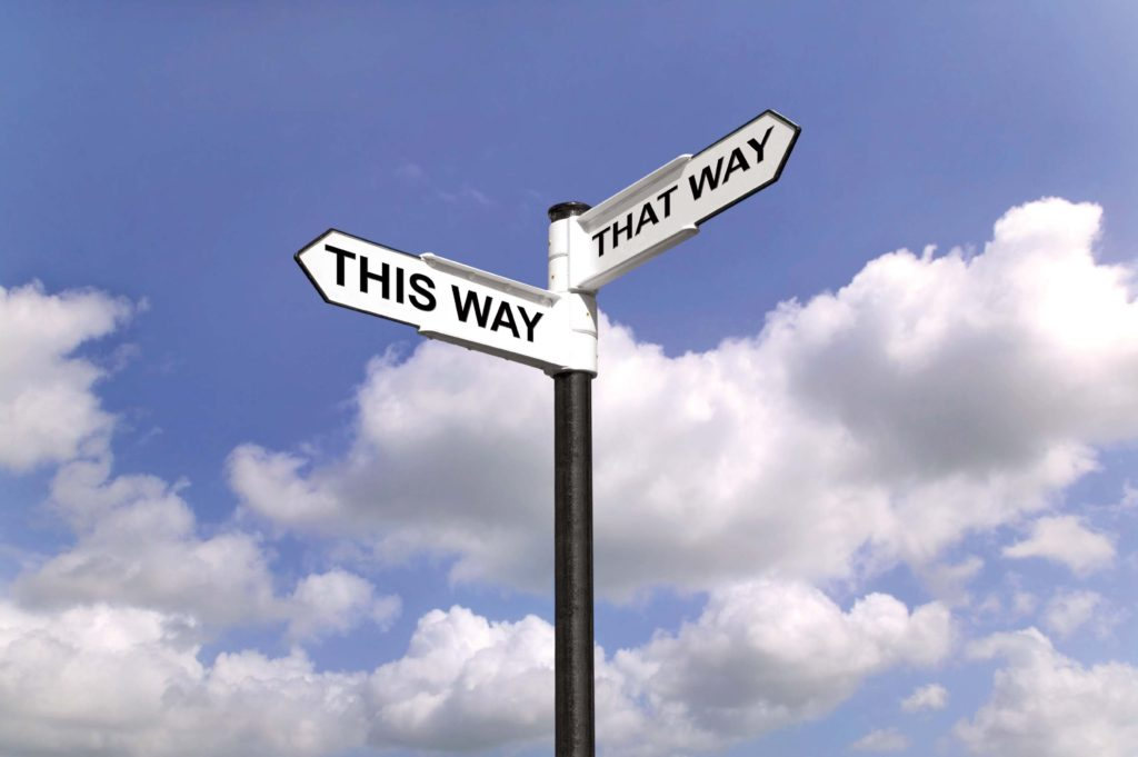 This Way That Way Which way to turn