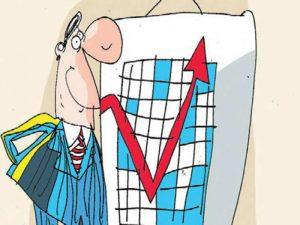 AUM value depends a lot on market fluctuations
