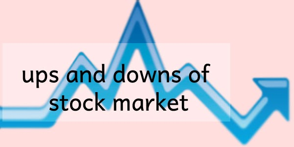 ups and downs of stock market